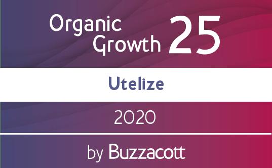 Utelize Organic Growth Award 25